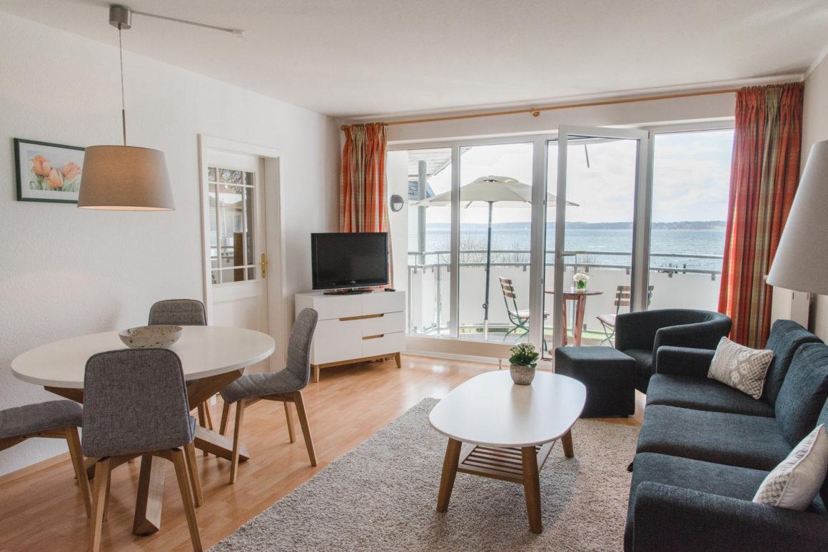 Fördeblick Apartment with Balcony