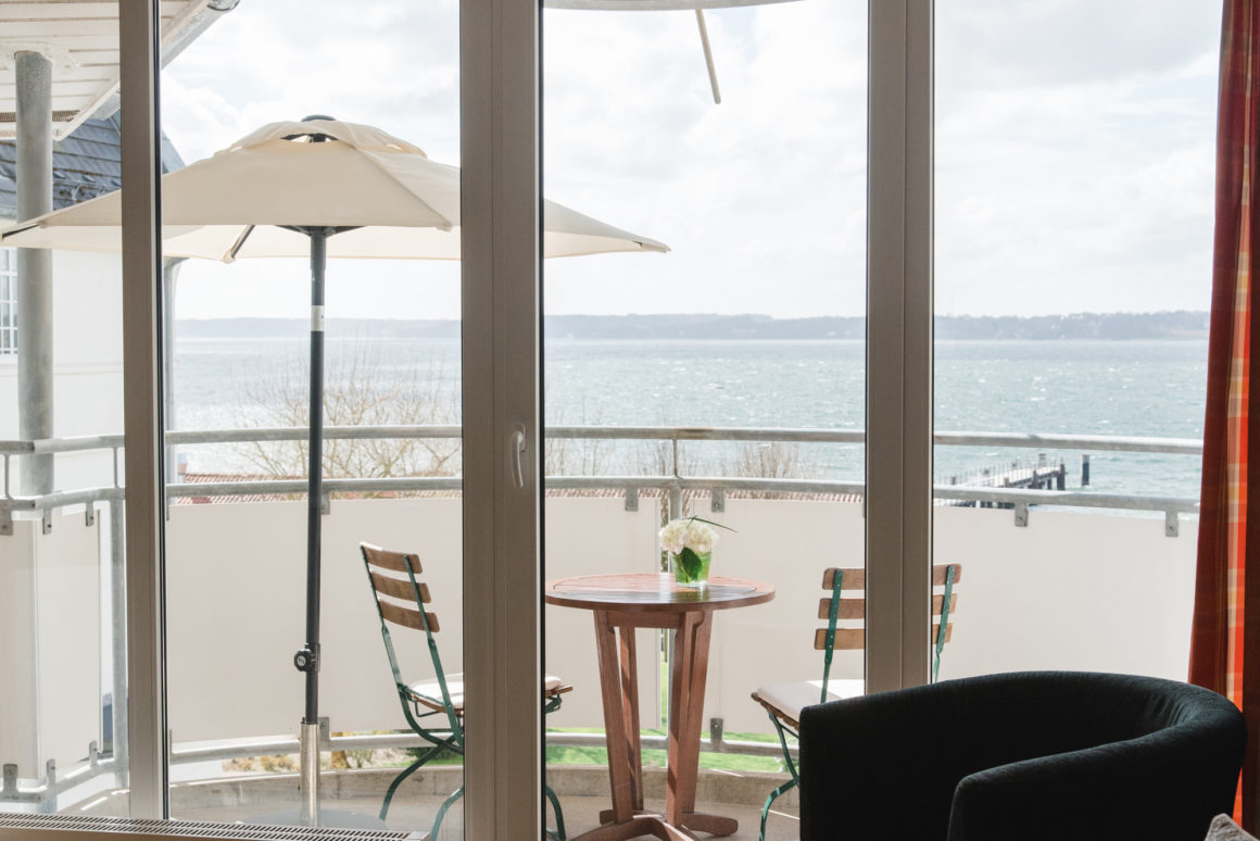 Fördeblick appartements med balkon
